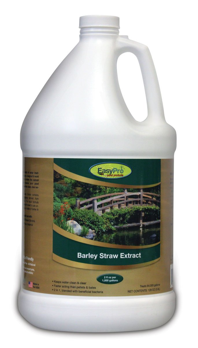 EasyPro BSE128 Liquid Barley Straw Extract for Ponds, 128-Ounce