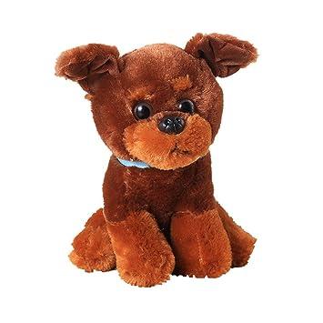 Toymio Teddy Perro Retriever Muñeca de cachorro Niños Lindos animales de peluche Regalos