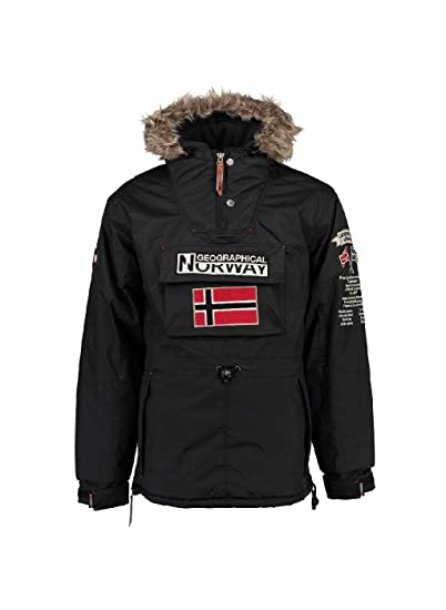 Geographical Norway Homme Noir Noir Blouson