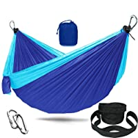 Kepeak Double Camping Hammock with Mosquito Net