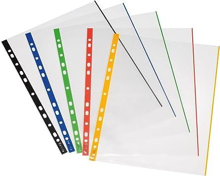 Herlitz Prospekthülle DIN A4 glasklar 0,090 mm 50 Hüllen