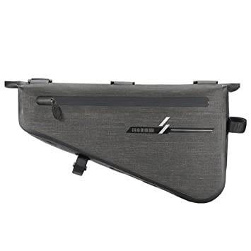 Waterproof Bike Bicycle Front Tube Triangle Frame Bag Saddle Pouch Storage Case