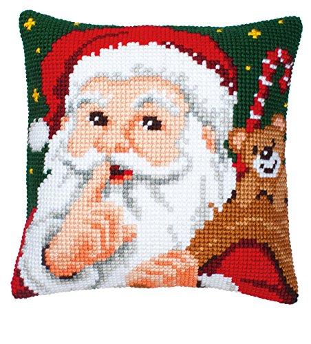 Chunky Cross Stitch - Vervaco Hush Cushion Front Chunky Cross Stitch Kit