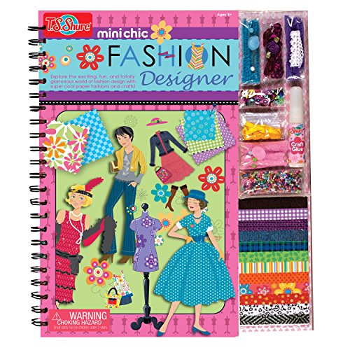 T.S. Shure Mini Chic Fashion Designer Book & Kit ()