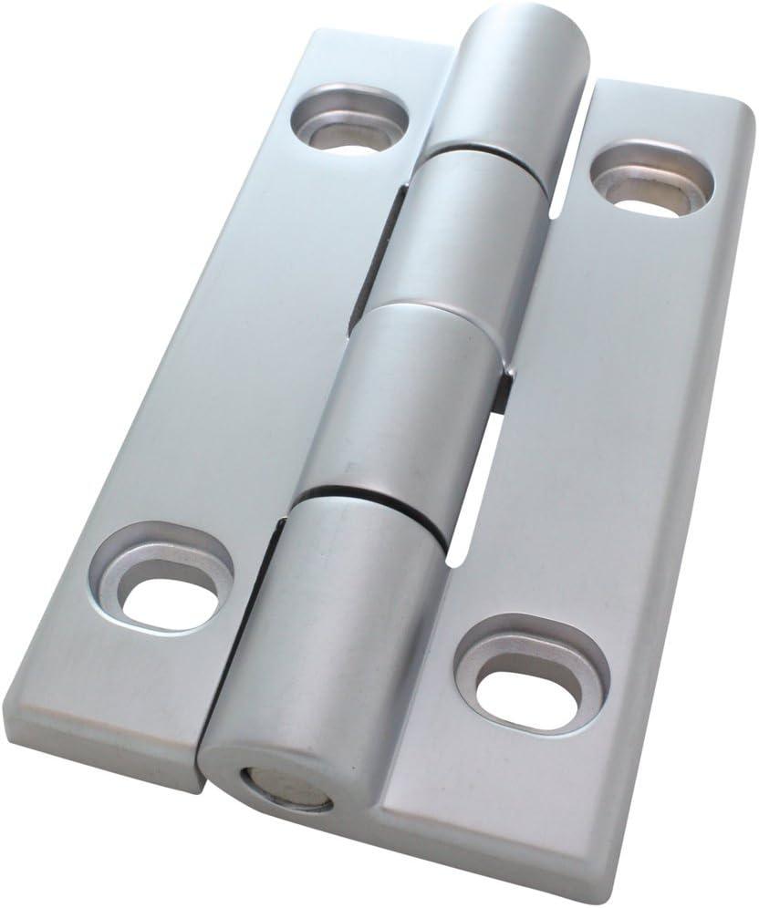 Scharnier Schwerlastscharnier Drehband AL 90 Aluminium Druckguss 30//30 58x96 mm