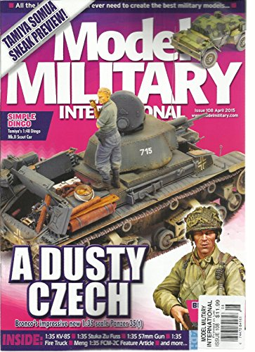 MODEL MILITARY INTERNATIONAL, APRIL, 2015 ISSUE, 108 (A DUSTY CECH) ()
