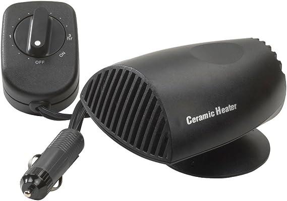 scelta CERAMICA Ventola Ventilatore 12 Volt 200w riscaldamento con Timer//Timer 2