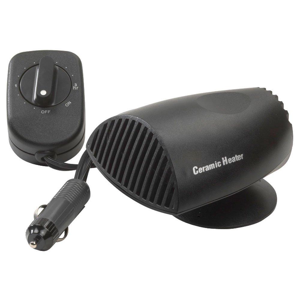 Autostyle Radiateur soufflant en cé ramique pour pare-brise, dé givrant avec minuterie, 200 W, 12 V dégivrant avec minuterie HBA09T