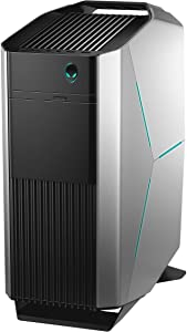 Alienware Aurora R6 Intel Core i7-7700 X4 4.2GHz 16GB 1TB+16GB Optane Win10, Silver GTX 1060 6GB GAMING DESKTOP VR READY