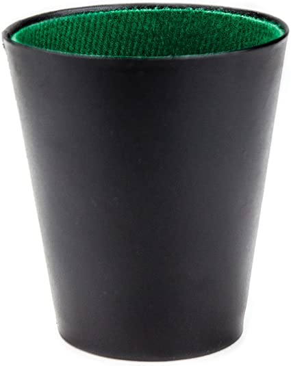 Felt Lined Dice Cup By Brybelly