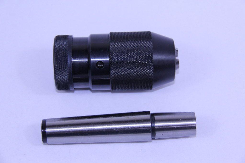 1/64-1/4'' 1JT PRO-SERIES KEYLESS DRILL CHUCK & JT1-2MT TAPER ARBOR MT2 CNC by All Industrial