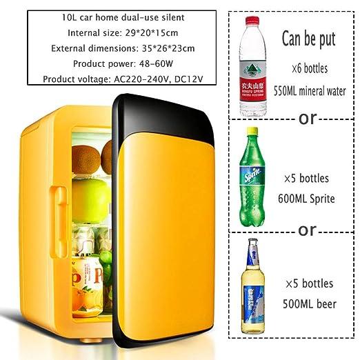 YIWANGO Portátil Refrigerador 10L BAJO Consumo Fácil De Limpiar ...