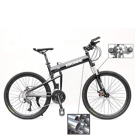 PXQ 26 Pulgadas Adulto Plegable Bicicleta de montaña Marco de ...