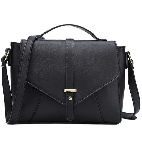 Ladies Designer Purses Cross Body Handbags Trendy Bags for Women Shoulder  Bags (Black) 1bb2fdc29