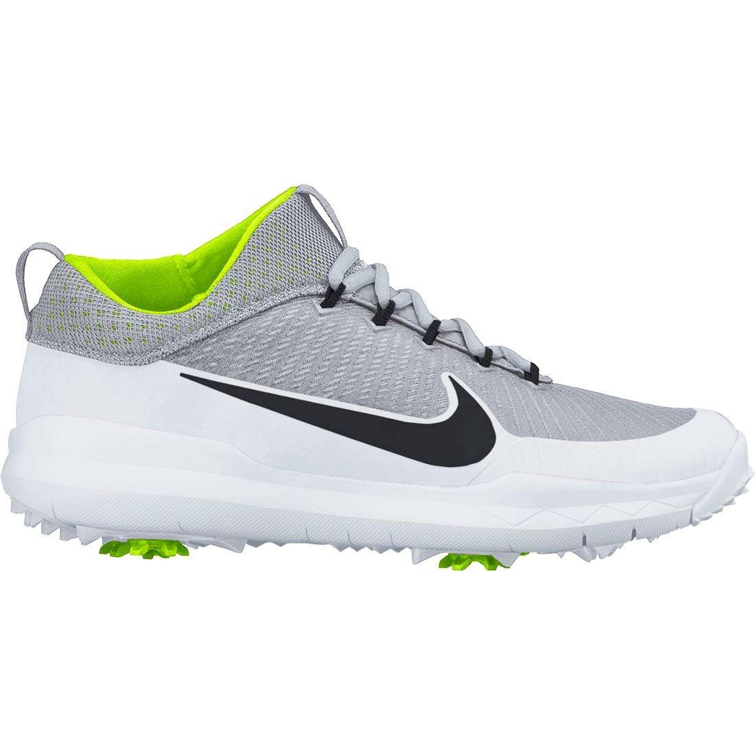375 Men Nike FI Premiere Metallic Silver Shoes  Golf Shoes