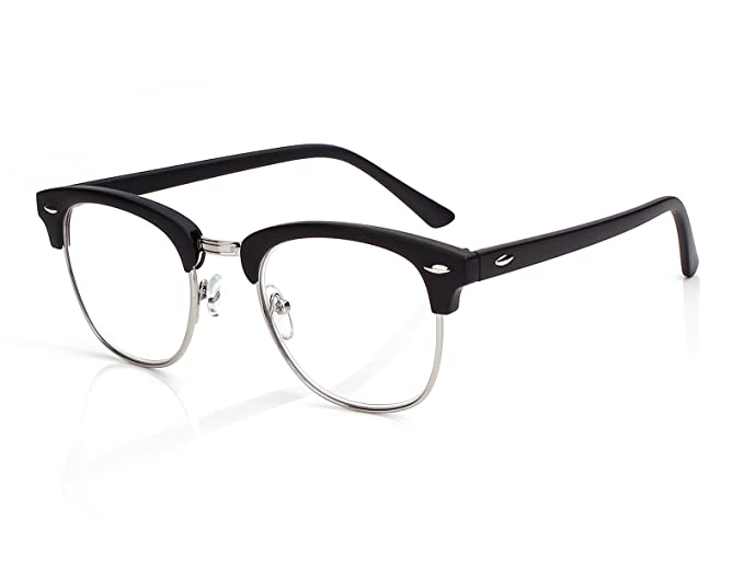 0301b6dd35 Amazon.com  Beison Retro Style Readers Horn-Rimmed Reading Glasses ...