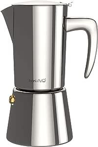 Amazon.com: bonVIVO Intenca - Cafetera espresso, Cromado ...