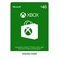 Xbox Live £40 Credit [Xbox Live Online Code] [PC Code - No DRM]