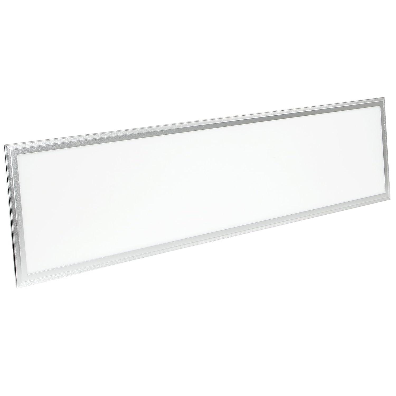 Yorbay LED Panel GS geprüft, Warmweiß, 120x30cm 35W, Deckenleuchte Pendelleuchte Wandleuchte mit Befestigungsmaterial und LED Treiber/Trafo [Energieklasse A+] Warmweiß
