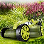 Sun Joe MJ403E Mow Joe 17-Inch 13-Amp Electric Lawn Mower/Mulcher 18 POWERFUL: 13-amp motor cuts a 17-inch wide path HEIGHT CONTROL: Tailor cutting Height with 7-position Height control CONVERTIBLE: Mulching + mowing function