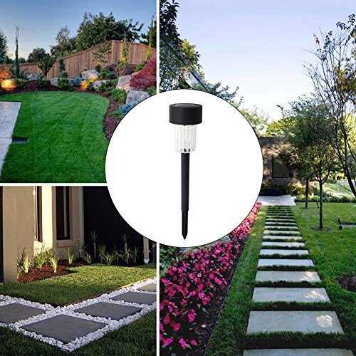 Maggift 12 Pack Solar Pathway Lights Solar Garden Lights