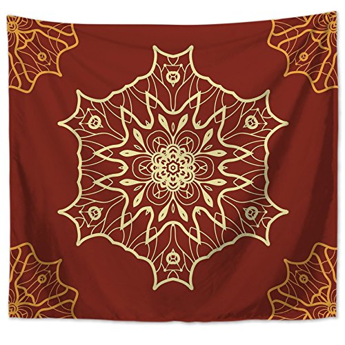Tapestry Tapestries Decor Wall hanging Decorative Tapestry_Bohemian Mandala Home Decor Tapestry/Rugby, LT-10052-1, 150130 ()