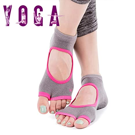 Grist CC Calcetines Pilates Yoga, Utilizar para Barre, Yoga ...