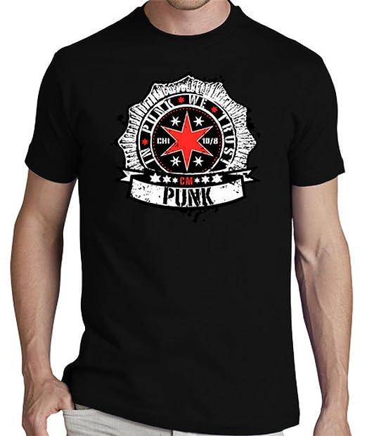LaTostadora Camiseta Cm Punk (In Punk we trust)  - Camiseta hombre clásica, calidad