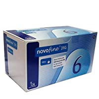 Novofine 6mm x 31g 100ct Novo nordisk
