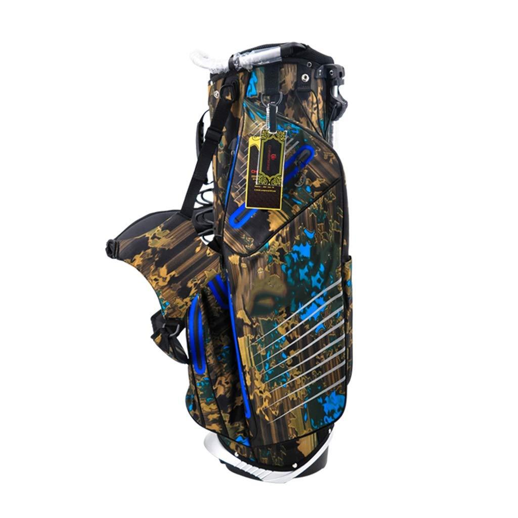 男女兼用の立場の大容量の軽いポータブルが付いているゴルフバッグキューバッグ (色 : B)  B B07PLC61TK