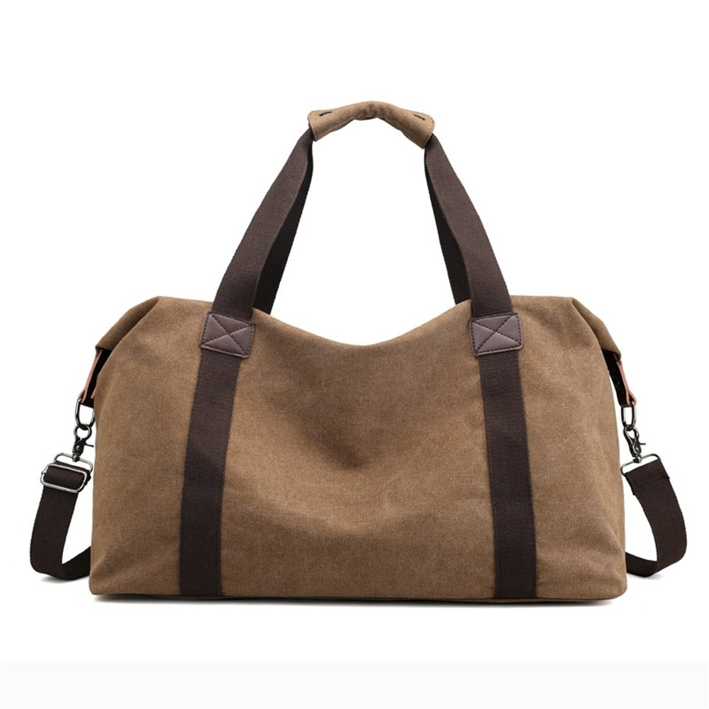 Ybriefbag Unisex Canvas Traveling Bag, Large Capacity Canvas Traveling Bag, Single Shoulder Shoulder Bag, Short Distance and Large Capacity Baggage Bag. Vacation by Ybriefbag (Image #1)