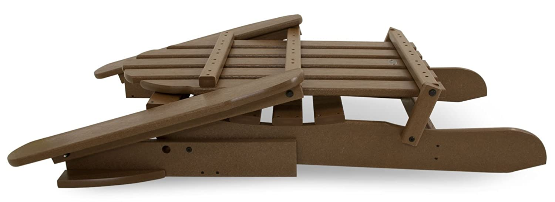 Aruba POLYWOOD PWS136-1-AR Classic 2-Piece Adirondack Chair Set