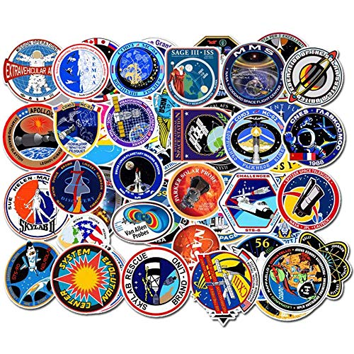 NASA Space Laptop Stickers 49pcs Pack, Cool Teen Waterproof for sale  Delivered anywhere in Canada
