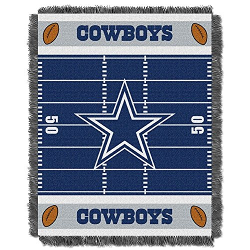 Cowboys Baby Blanket - The Northwest Company Dallas Cowboys Woven Jacquard Baby Throw Blanket