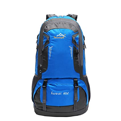 SMUNIFUR 60L Hiking Backpack Lightweight Travel Daypack Waterproof Outdoor  Bag Packable Foldable Durable Shoulder Sport Ultralight 1b62b478f9326