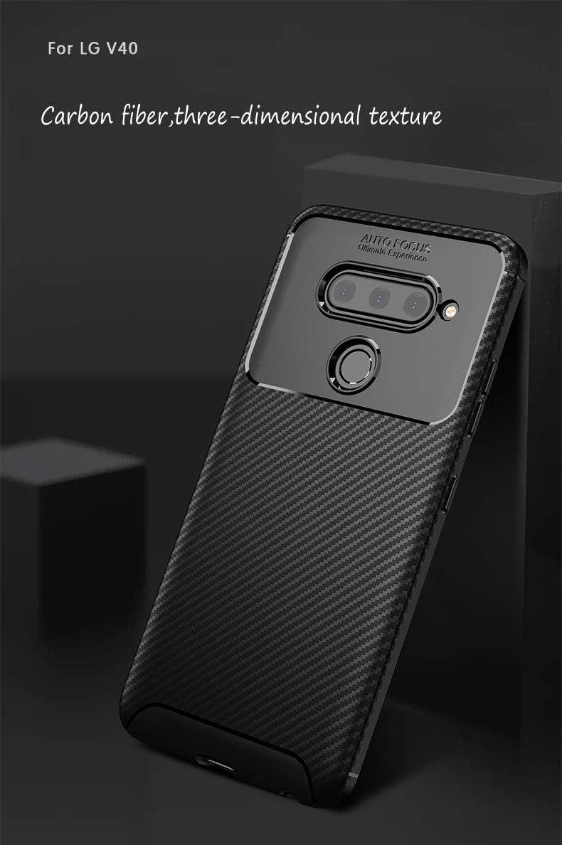 BELLA BEAR Funda para LG V40,Silicona Material Blando A Prueba de ...