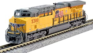N GE ES44AC Union Pacific #5380 w/Ready to Run DCC
