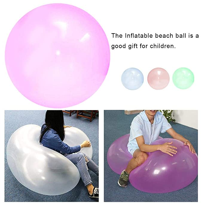 Navigatee Pelota Inflable con Balón De Globo, Pelota De Playa ...