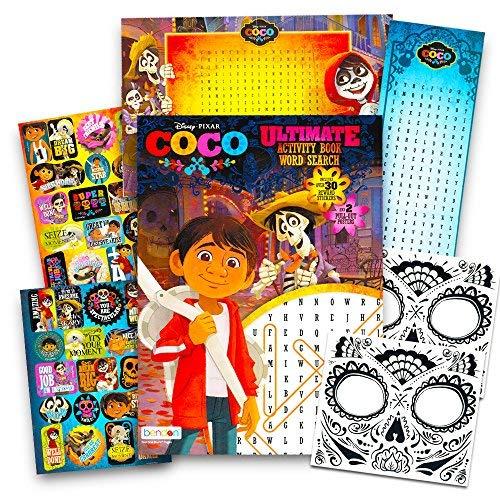 Disney Pixar COCO Activity Book Set -- Coco