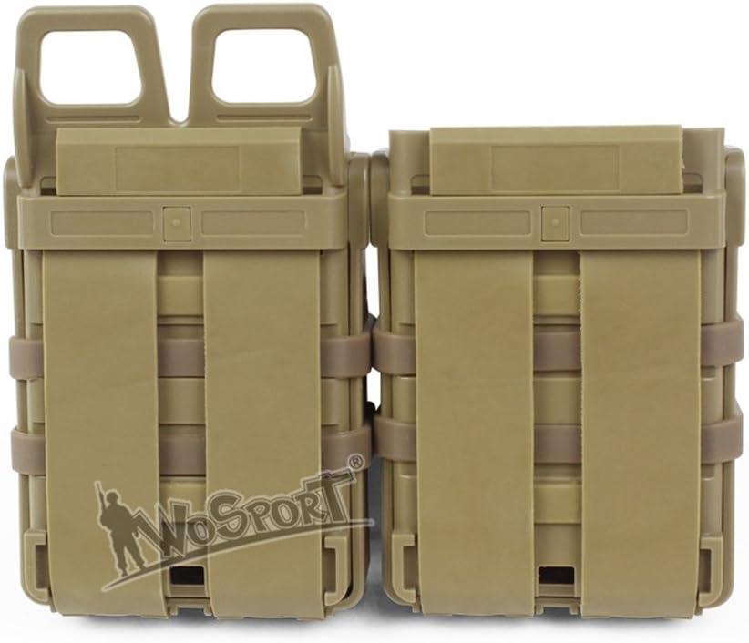 Kayheng Taktische Magazintasche Tasche 5.56 Zeitungsst/änder M4 M16 AR15 MAG Polymer