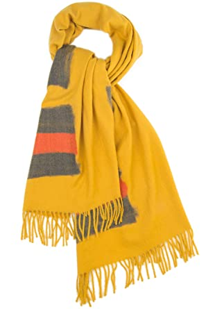 Hochwertiger Damen-Schal aus Viskose Kaschmir und Wolle Maxi Mehrere Farben