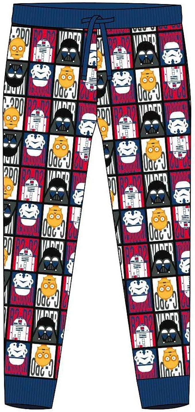Star Wars - Pantalón de Pijama para Hombre (S) (Multicolor ...