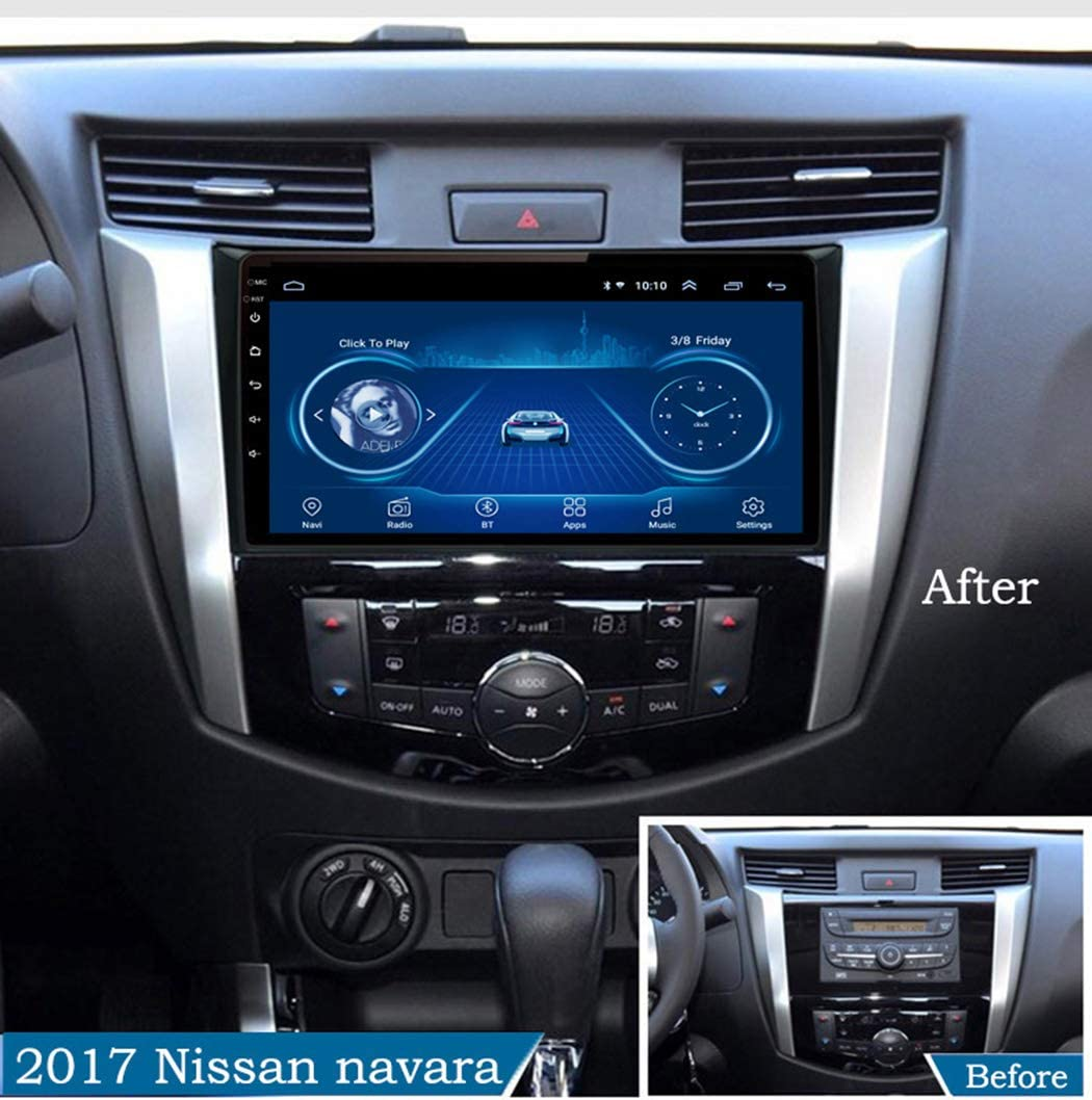f/ür Nissan navara NP300 2016-2018 Unterst/ützt WiFi GPS Navigation USB FM AM Lenkradsteuerung ZhiQin 10,1 Zoll Android 8.1 Autoradio Mit Navi Bluetooth Touchscreen