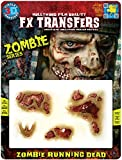 Tinsley Transfers  The Running Dead, Flesh/Multi, One Size