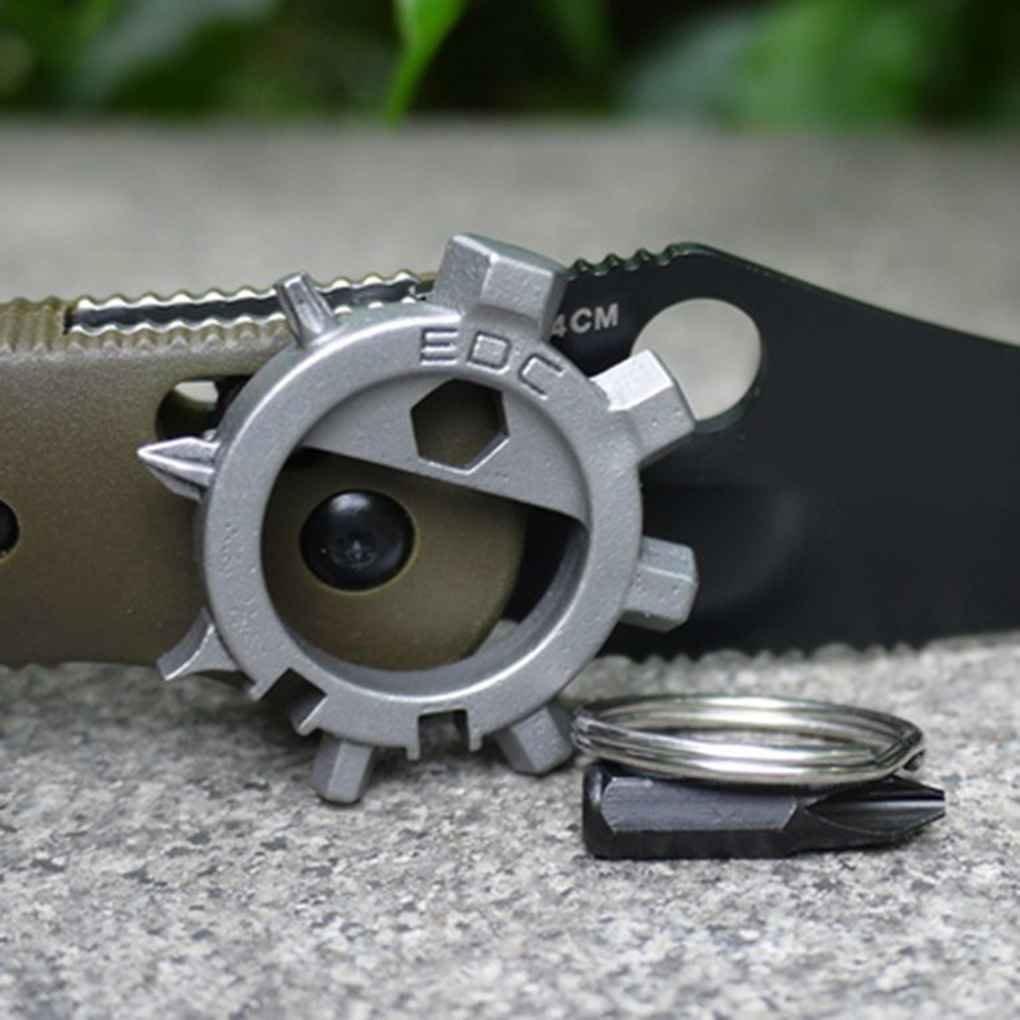 Pegcdu Portable Multi Tool 12 Fonctions Vitesse Bouteille de r/éparation de v/élos en acier inoxydable ouvre-porte-cl/és tournevis