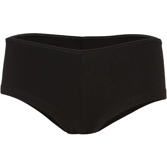 Amazon.com: Bella lona de la mujer algodón Spandex Shortie ...