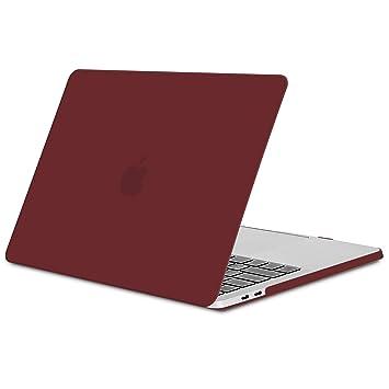 Funda para MacBook Pro 13 2016/2017/2018, TECOOL Delgado Cubierta de Plástico Dura Case Carcasa para MacBook Pro 13