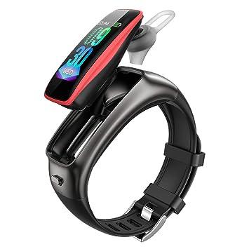 XMYL Pulsera De Actividad, 2 En 1 Auriculares Bluetooth Reloj ...
