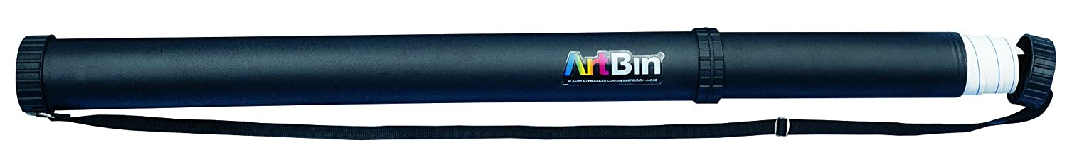 ArtBin Expandable Transport Tube - Black, AT60-T