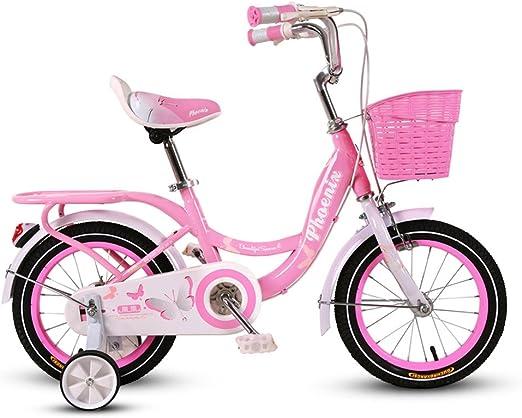 GLJJQMY Bicicleta for niños 2-4-6 años Bicicleta for bebé de 14/16 ...